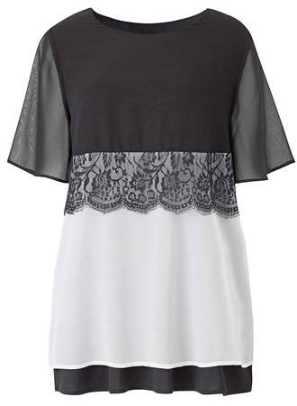 Μπλούζα Ασπρόμαυρη TP5215-01 Maniags