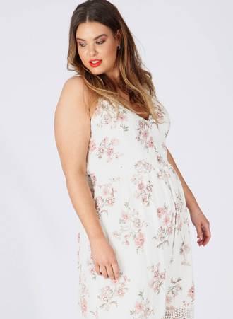 Φόρεμα Maxi Αμάνικο Φλοράλ pl4-04-336_1 Maniags