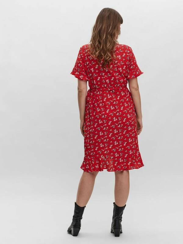 Κόκκινο Φόρεμα Φλοράλ Κρουαζέ 10253601_GojiBerry_886498_004_ProductLarge__1_ Maniags
