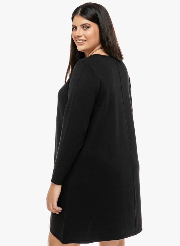 Φόρεμα Μαύρο Λεπτής Πλέξης 2019_12_13-Maniags2351_4kb9-8o Maniags
