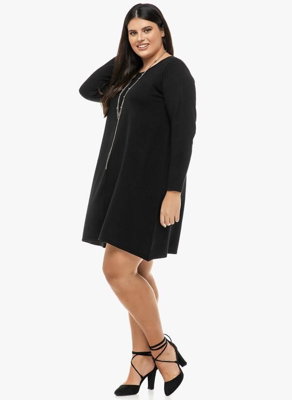 Φόρεμα Μαύρο Λεπτής Πλέξης 2019_12_13-Maniags2343 Maniags