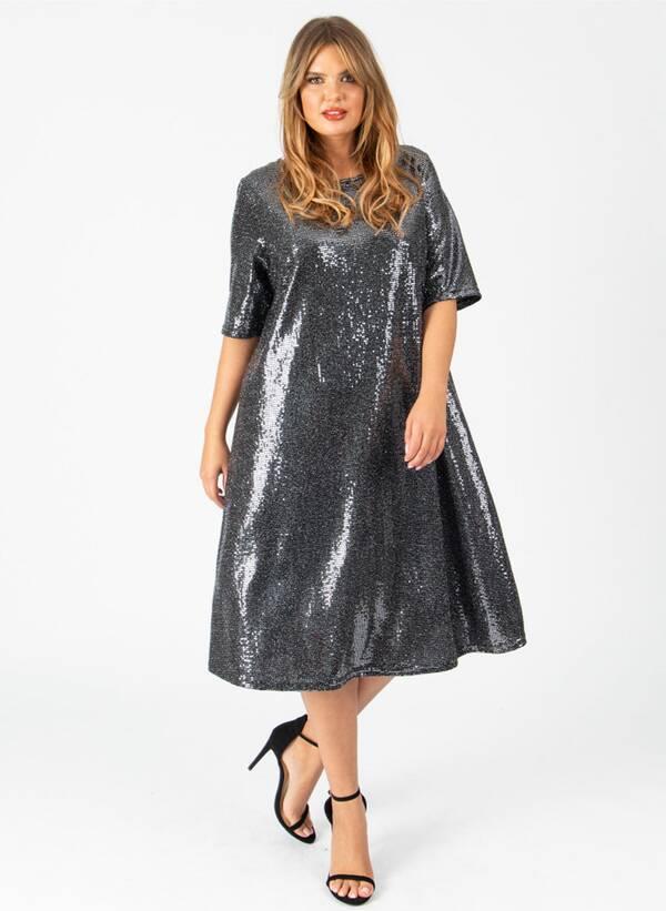 Φόρεμα Μίντι Lurex Maniags