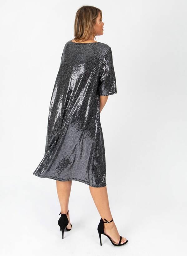 Φόρεμα Μίντι Lurex lovedrobesept19-419 Maniags