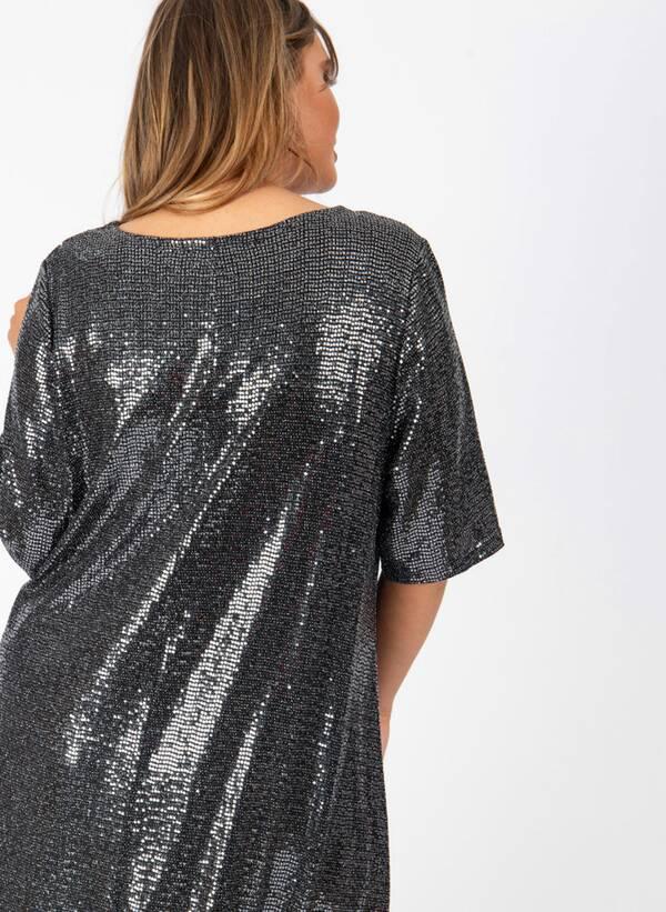 Φόρεμα Μίντι Lurex lovedrobesept19-420 Maniags
