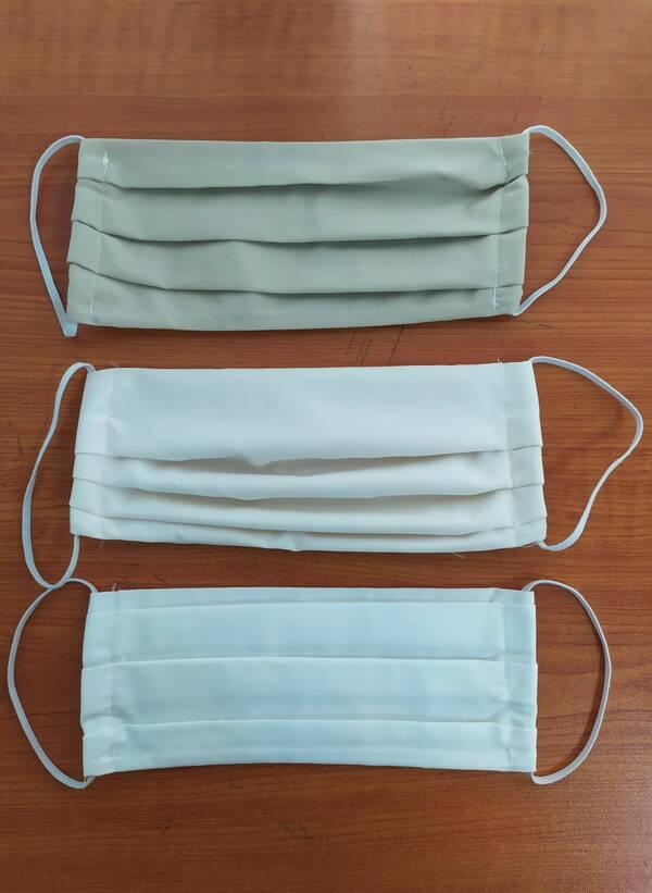 Υφασμάτινες Μάσκες Προστασίας 3 τμχ σε Μπεζ Αποχρώσεις Maniags