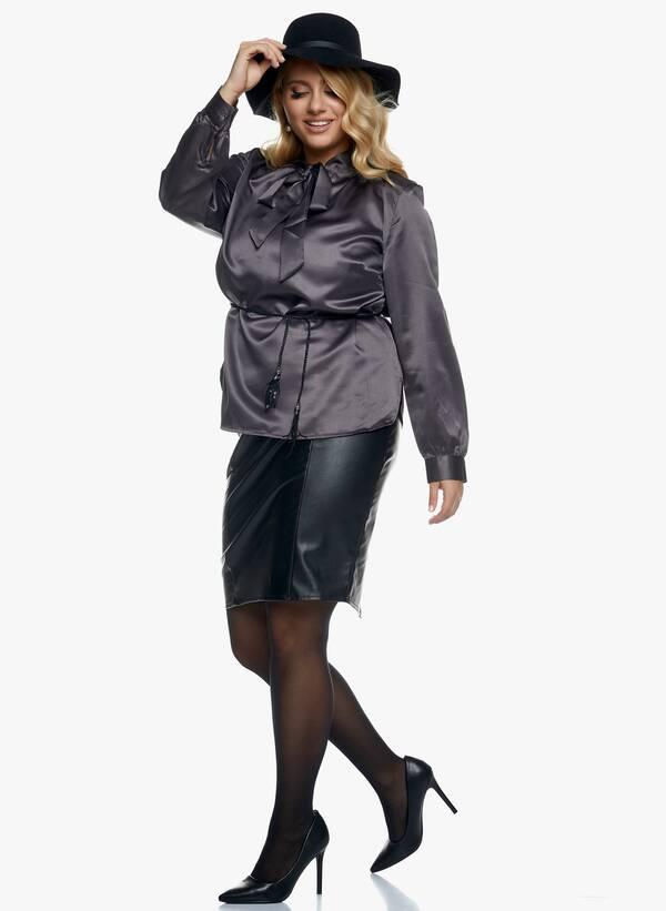 Μαύρη Midi Φούστα Δερματίνης 2020_11_02_Maniags_1614 Maniags