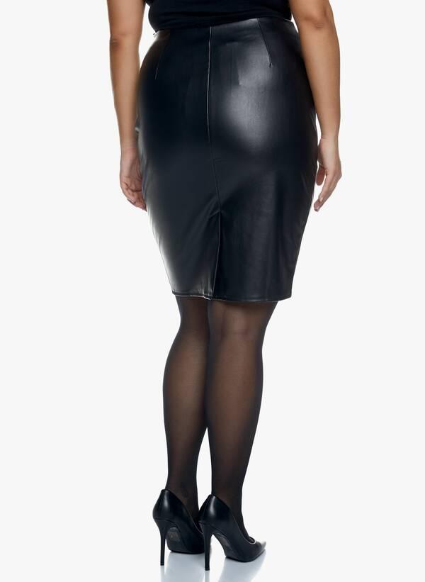 Μαύρη Midi Φούστα Δερματίνης 2020_11_02_Maniags_1625 Maniags