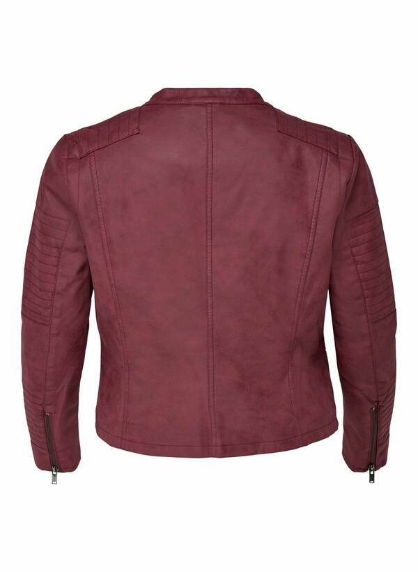 Biker Τζάκετ Faux Leather 15161651_Pomegranate_002_ProductLarge Maniags