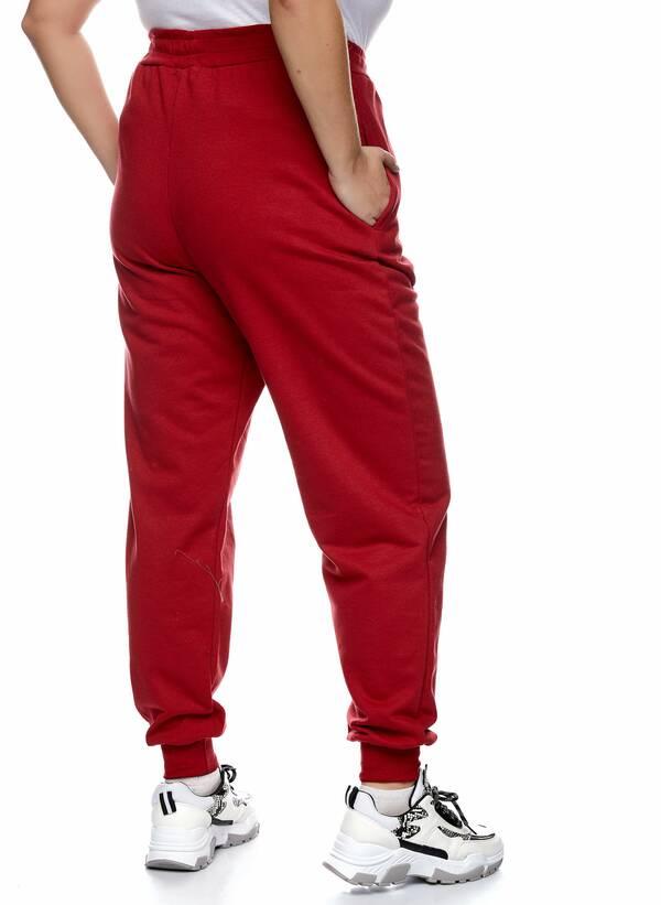 Παντελόνι Φόρμα Κόκκινη με Φλις Επένδυση 2021_01_25-Maniags2274 Maniags