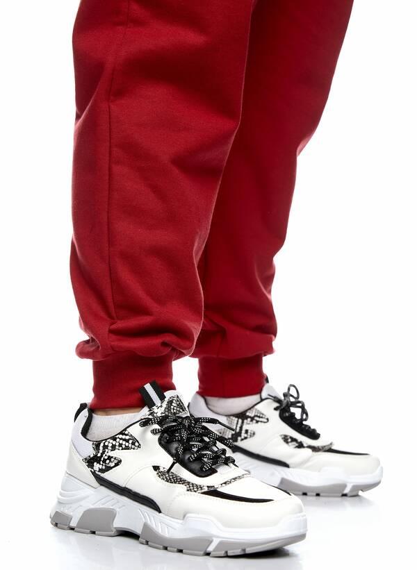 Παντελόνι Φόρμα Κόκκινη με Φλις Επένδυση 2021_01_25-Maniags2276 Maniags