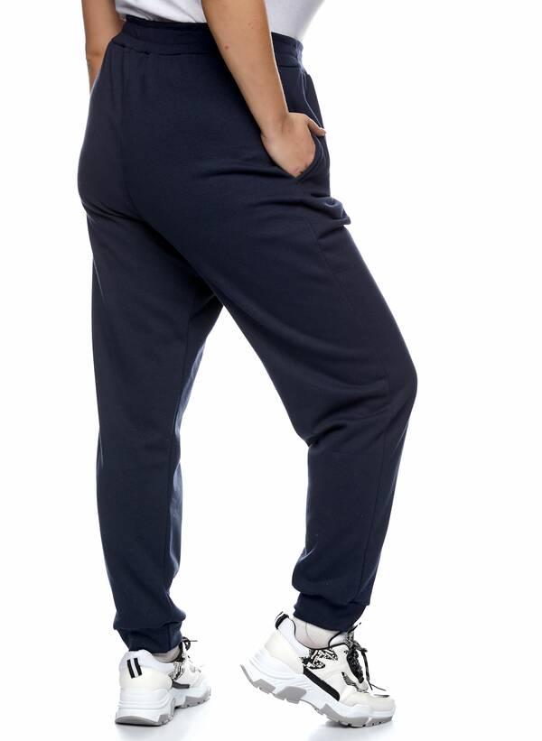 Παντελόνι Φόρμα Navy με Φλις Επένδυση 2021_01_25-Maniags2312 Maniags