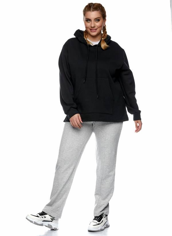 Μπλούζα Φούτερ με Κουκούλα Μαύρη 2021_01_25-Maniags2365 Maniags