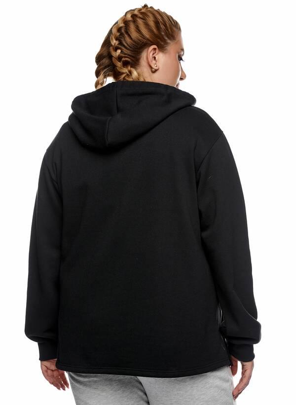 Μπλούζα Φούτερ με Κουκούλα Μαύρη 2021_01_25-Maniags2376 Maniags