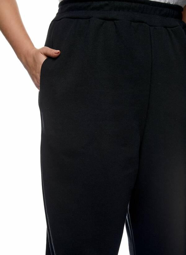 Παντελόνι Φόρμα Μαύρη με Φλις Επένδυση 2021_01_25-Maniags2417 Maniags