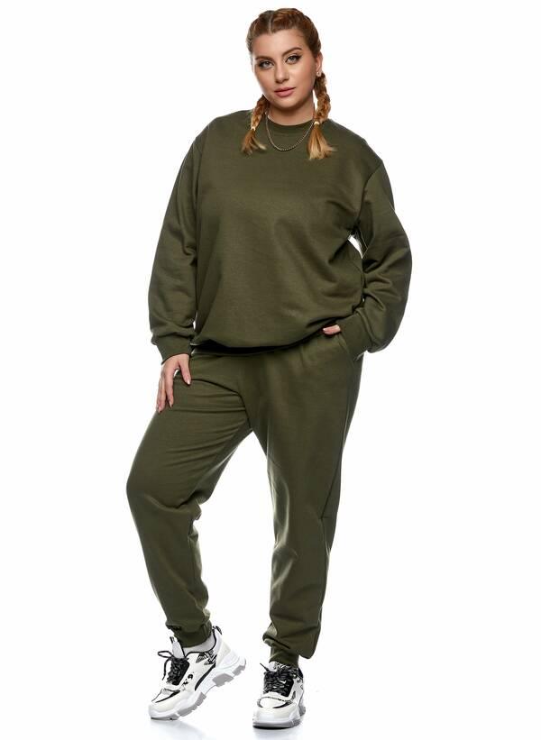 Παντελόνι Φόρμα Χακί με Φλις Επένδυση 2021_01_25-Maniags2460_k7tg-se Maniags