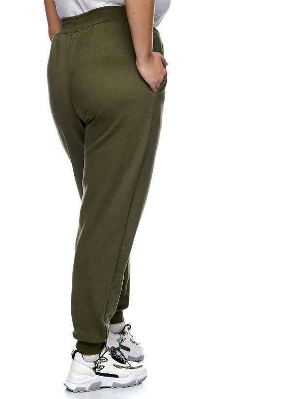 Παντελόνι Φόρμα Χακί με Φλις Επένδυση 2021_01_25-Maniags2491 Maniags