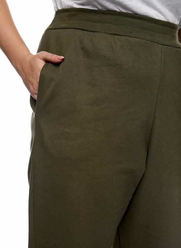 Παντελόνι Φόρμα Χακί με Φλις Επένδυση 2021_01_25-Maniags2493 Maniags