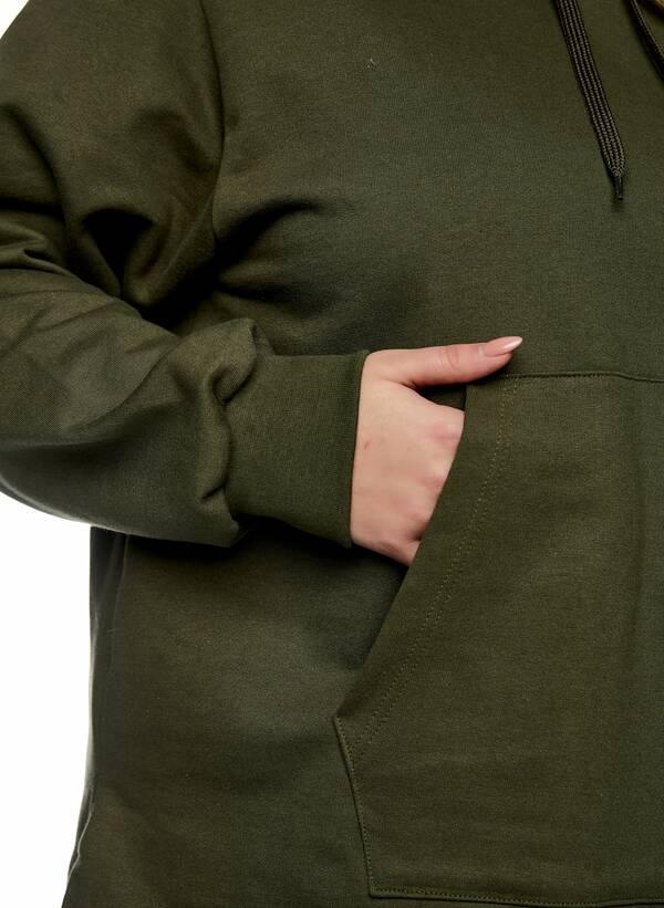 Μπλούζα Φούτερ με Κουκούλα Χακί 2021_01_25-Maniags2530 Maniags