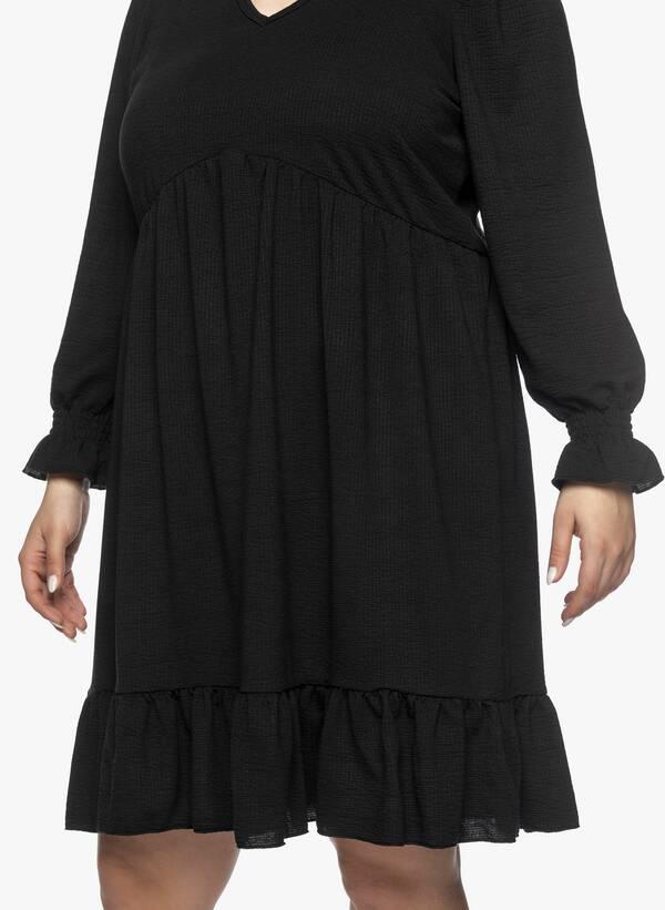 Φόρεμα Μαύρο με 'V' λαιμόκοψη 2021_03_30-Maniagz3677 Maniags