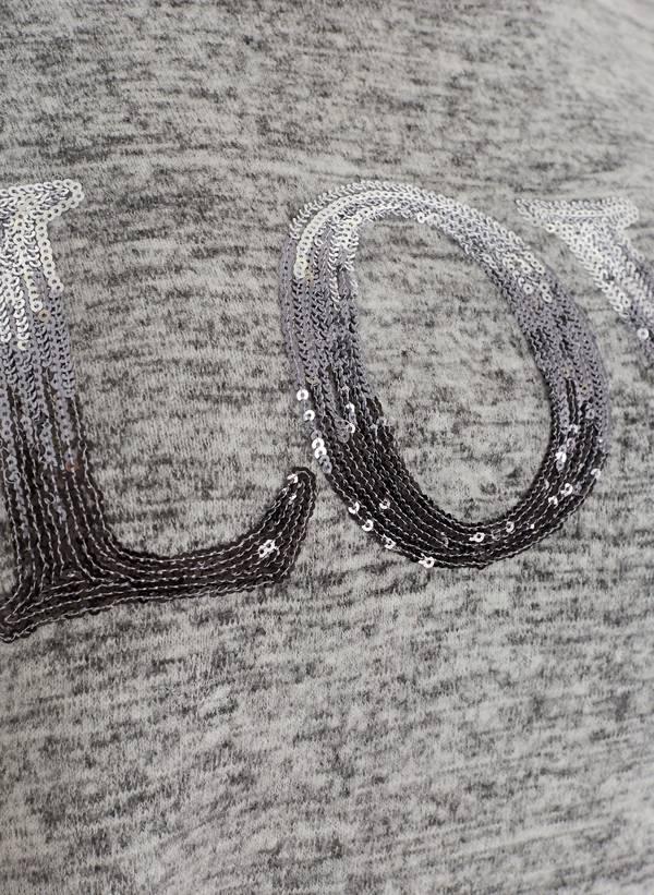 Μπλούζα Πλεκτή Γκρι με Τελείωμα Μουσελίνας 50859_1_vsjt-ii Maniags
