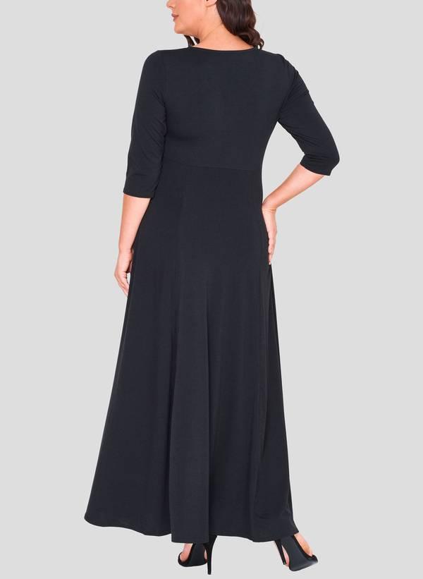 Φόρεμα Μάξι Ζέρσεϋ Κρουαζέ 50862_4 Maniags