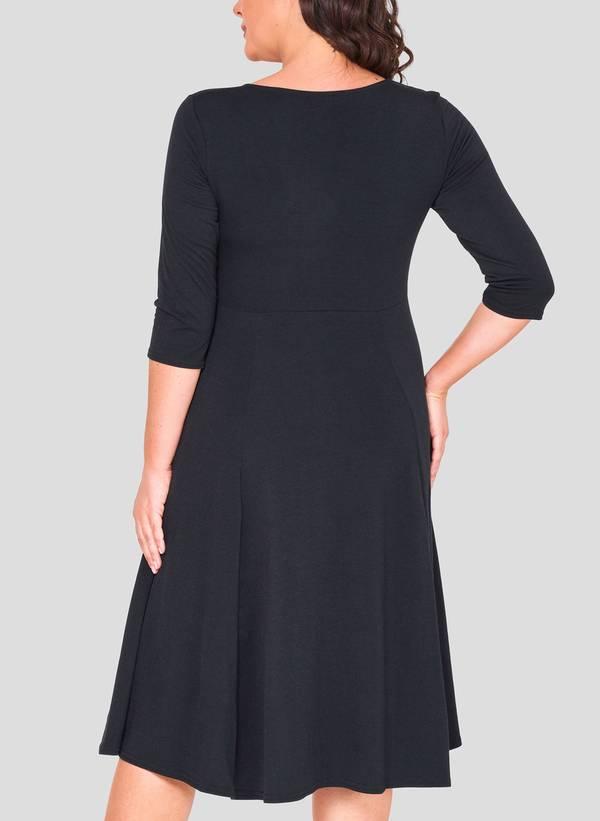 Φόρεμα Κρουαζέ 3/4 μανίκι 50863_5 Maniags