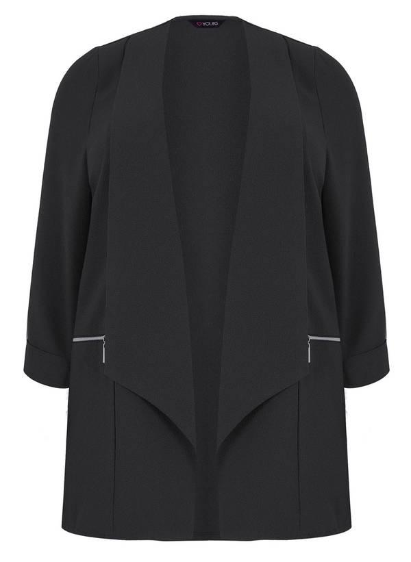 Σακάκι Κρεπ Μαύρο 50549-1 Maniags